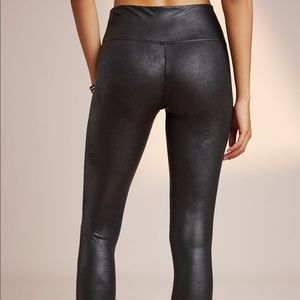 0c5c8b754673e5 Anthropologie Pants - NWT Anthropologie Spanx faux leather leggings